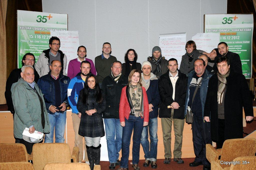 Učesnici debate 35+